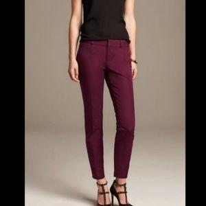 NEW Banana Republic Sloan Fit Slim Ankle Pants
